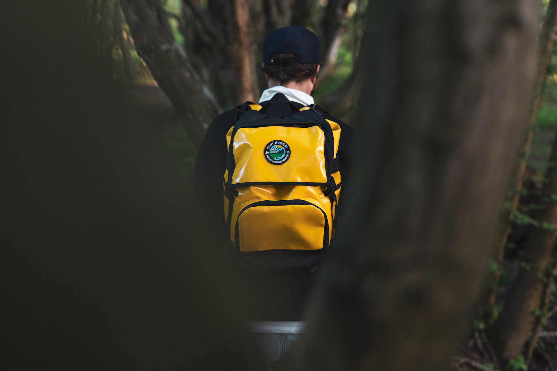 YMGU Backpack Yellow - Stay Hungry Sports